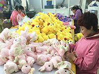 中国工場 作業風景